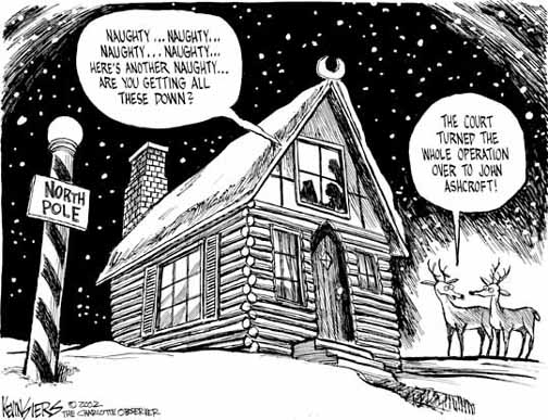 siers Kevin Siers Cartoon for 11/23/2002 cartoons