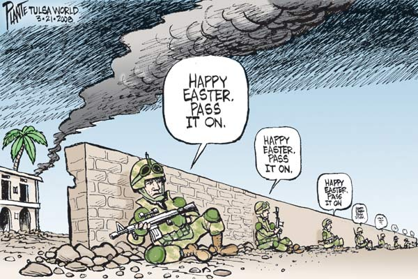 Cartoon by Bruce Plante
