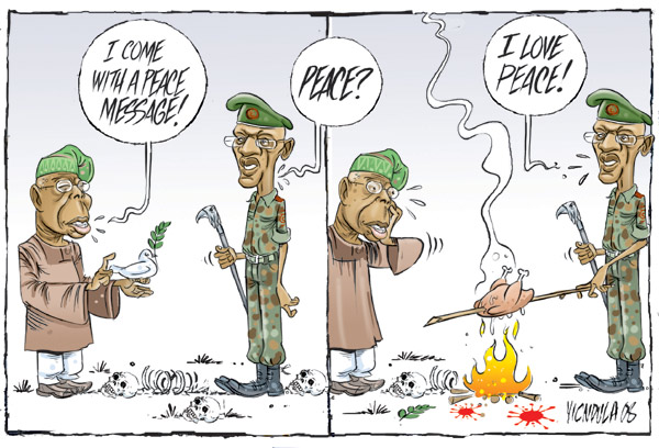 ndula Victor Ndulas Cartoon for 11/17/2008 cartoons