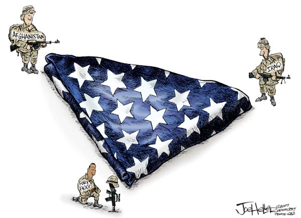 heller Live Blog: Fort Hood Cartoons cartoons