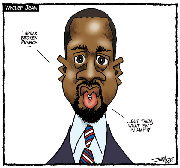 bado Guy Badeauxs Cartoon for 8/9/2010 cartoons
