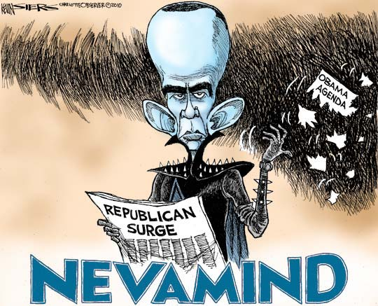 siers Kevin Sierss Cartoon for 11/8/2010 cartoons