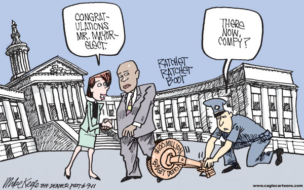 keefe Mike Keefe Cartoon for 06/08/2011 cartoons