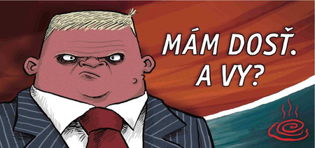 shooty billboard Cartoon Billboards Attack Spineless Slovak Leader cartoons