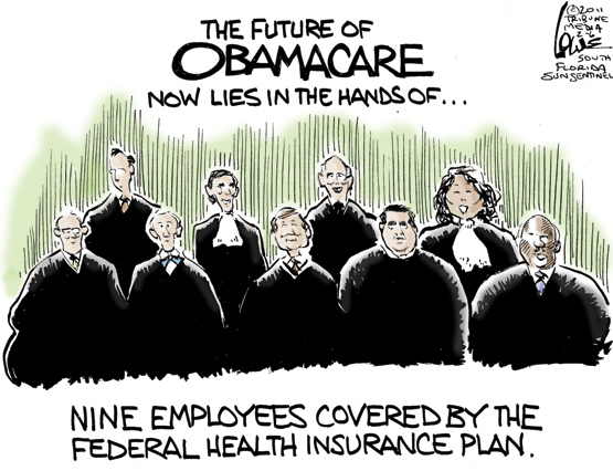 chan lowe usa today obamacare How Many Women on the Supreme Court? cartoons