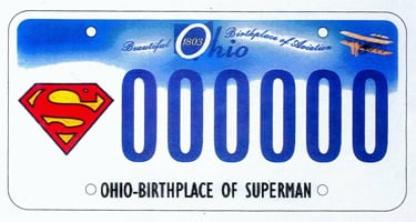 superman license platw Warner Bros. Rejects Superman License Plate Wording cartoons