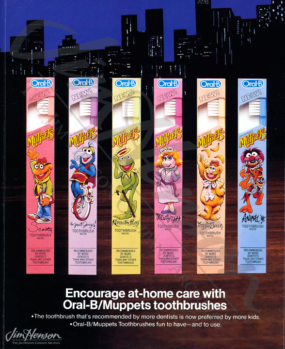 MTM 14404 OralBPromotion My Muppet Cartoons cartoons