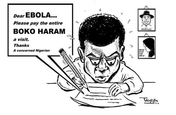 Letter to Ebola  Letter to Ebola cartoons